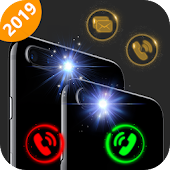 Flash on call and sms: ultimate flashlight,LED Icon