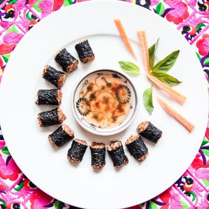 Oven Baked Thai Inspired Prawn Cakes