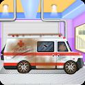 Emergency Vehicles at Car Wash icon