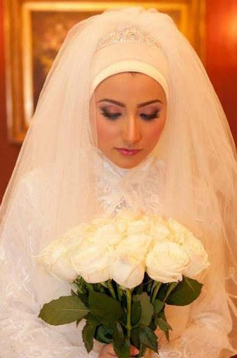 صور فساتين الزفاف للمحجبات