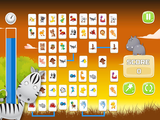 Connect Animals : Onet Kyodai (puzzle tiles game) 3 screenshots 7