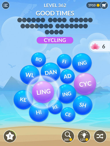 Word Serenity - Calm & Relaxing Brain Puzzle Games apkpoly screenshots 9