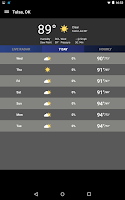 Screenshot of News On 6 Weather