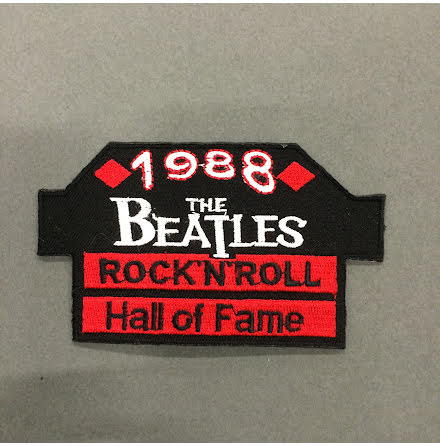 The Beatles - Rock N Roll Hall of Fame - Tygmärke