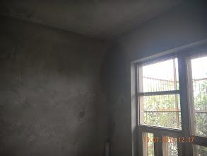 Photo: FF LHS Room - why the rain seepage ?- D-41, P-3, GNOIDA. Builder : Nanak Builders, Mr. Virender Batra