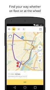 Yandex.Maps Screenshot 3