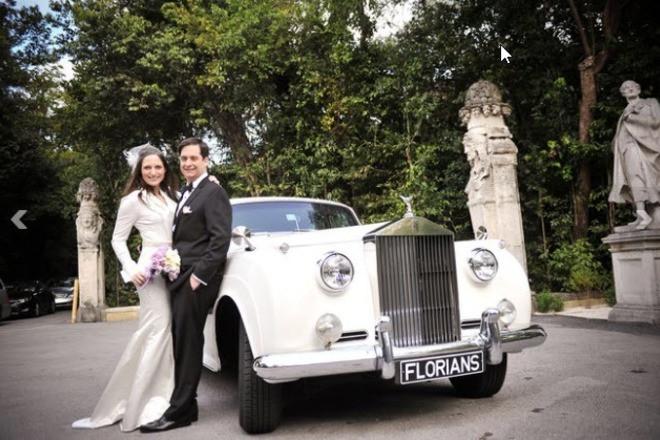 1960 Rolls Royce Silver Cloud - White Hire FL