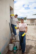 Photo: Cleaners! Karen and Pilar