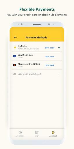Fold - Bitcoin Cashback Rewards 1.1.84 screenshots 4