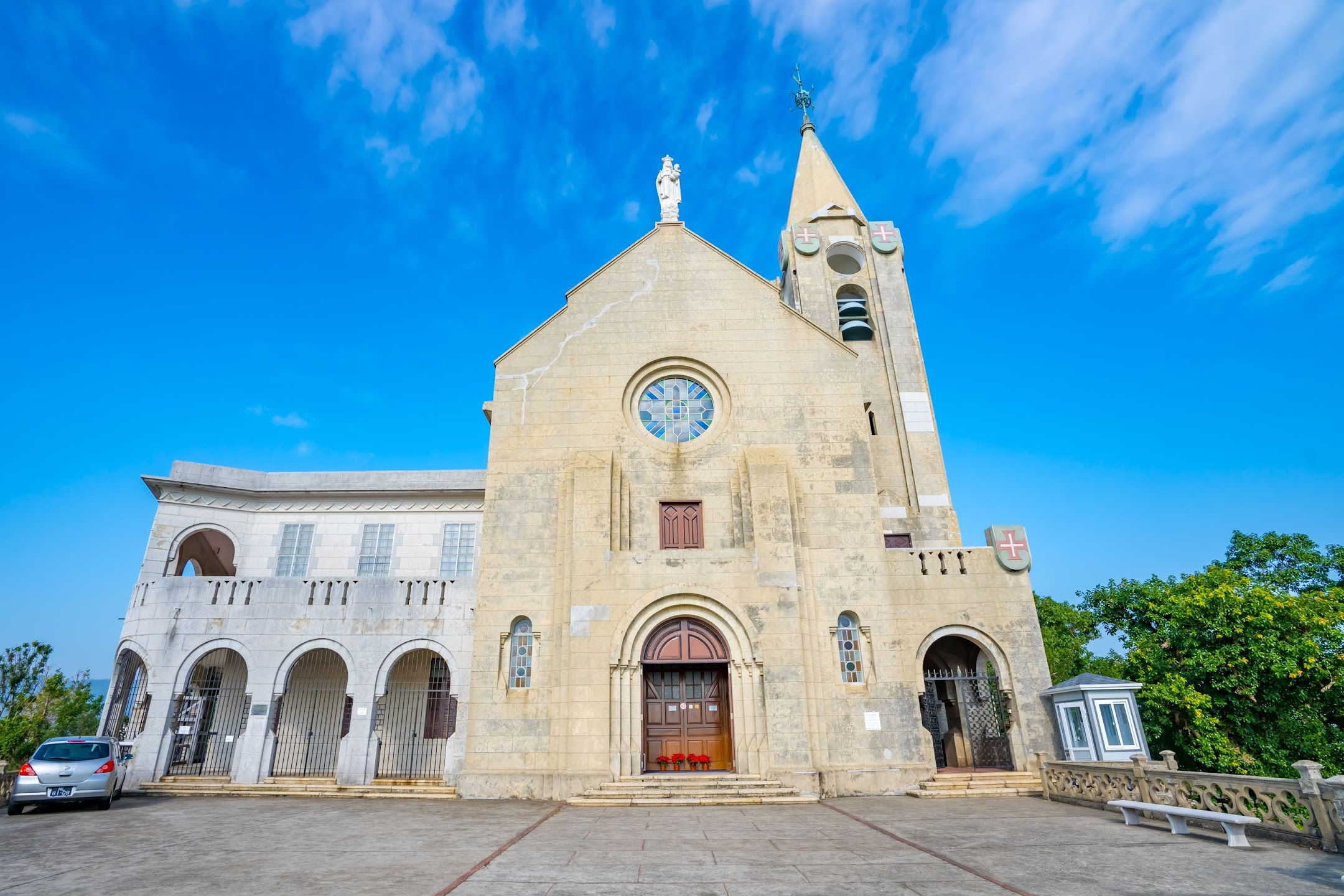 マカオ ペンニャ教会(Penha Church/主教山小堂/Ermida de Nossa Senhora da Penha)