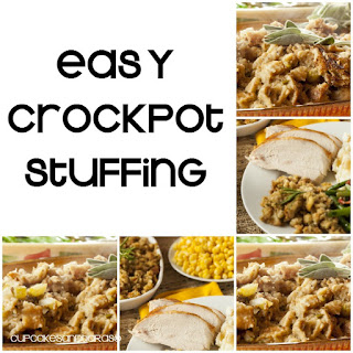 Easy CROCKPOT Stuffing
