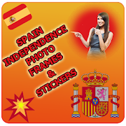 Spain Independence Photo Frames & Stickers-12 oct APK