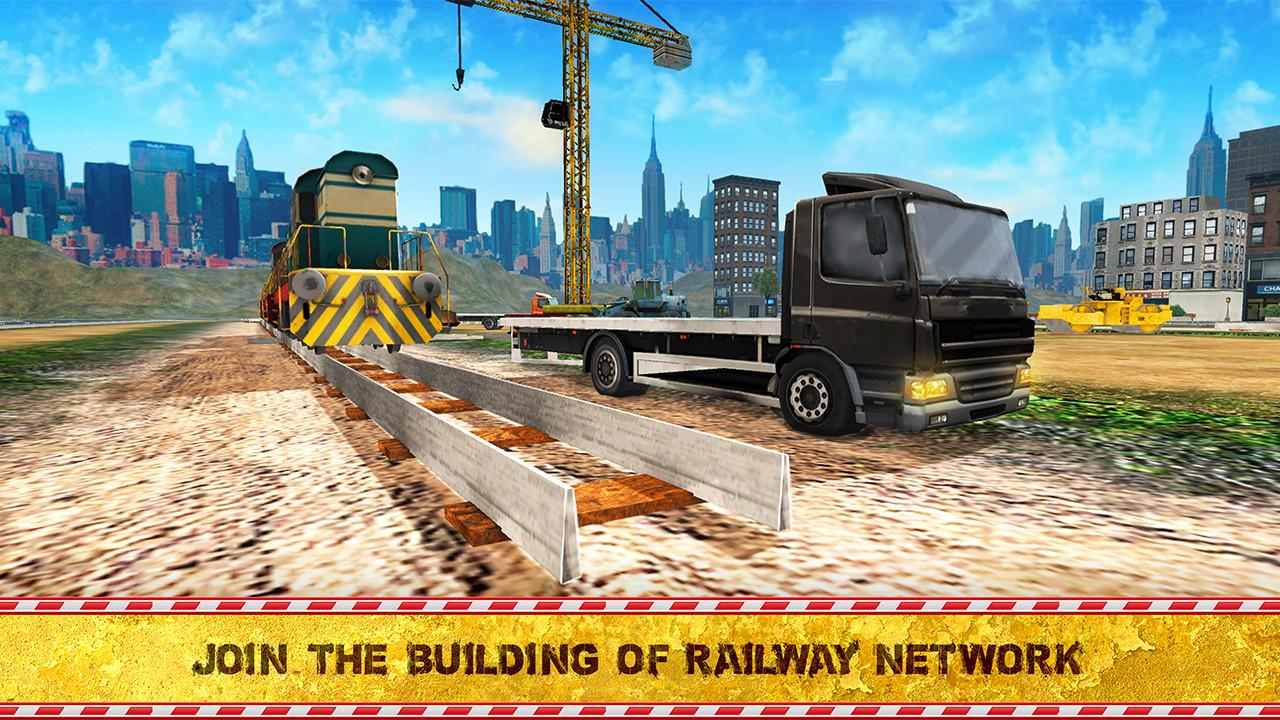 City Railway Construction 2017- screenshot