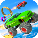 Mega Ramp Stunts - Impossible Car Racing & Stunts icon