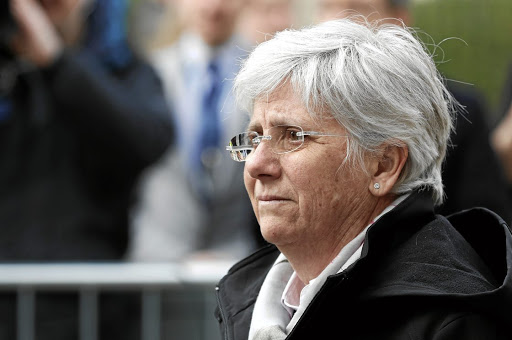Support: Clara Ponsati is an economics professor at the University of St Andrews, which has expressed concern over arrests. Picture: REUTERS