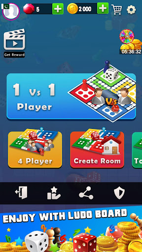 King of Ludo Dice Game with Free Voice Chat 2020 1.5.2 screenshots 1