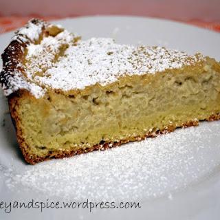 Rijstevlaai – Dutch Rice Pudding Flan/Pie