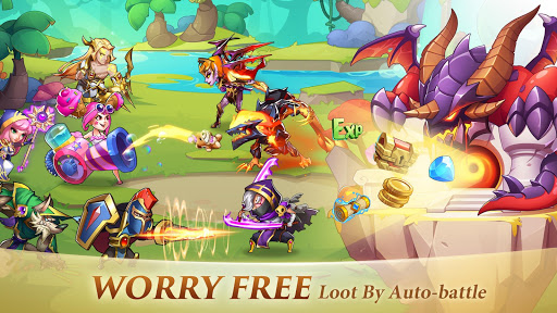 Idle Heroes screenshot 8