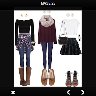 Latest Outfit For School - náhled