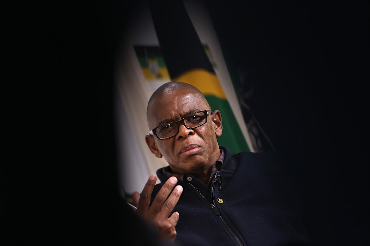 Embattled ANC secretary-general Ace Magashule said in Soweto on Wednesday that he would hold his head high at all times. File photo.