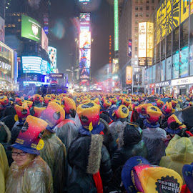 New Year's Eve by VAM Photography - Public Holidays New Year's Eve ( places, new york's times square, culture, weather, people )