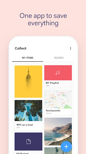 Collect: Organize your content 3.2.1 gameplay | AndroidFC 1