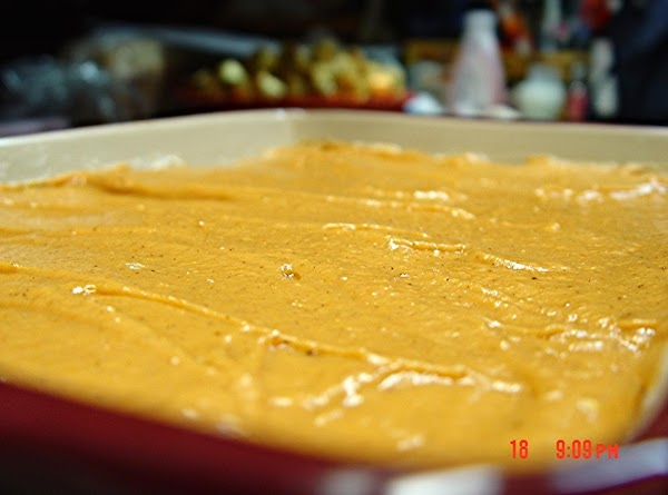 Pumpkin Desert Recipe