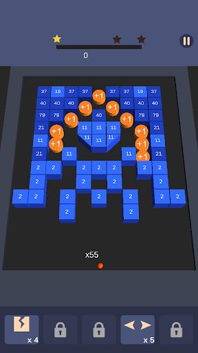 Bricks n Balls Breaker 3D - Puzzle Crusher  screenshots 6