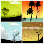 Seasons Photo Frames Icon