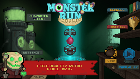Monster Run- screenshot thumbnail