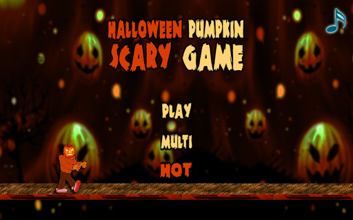 Halloween Pumpkin Scary Game
