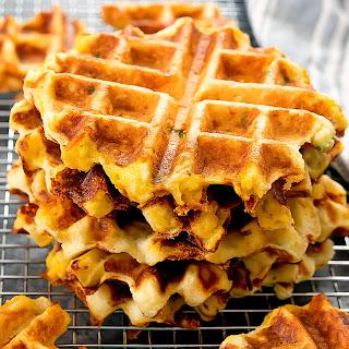 Mashed Potato Waffles.