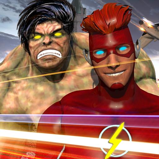 Incredible Flash hero: Speed hero Flash games