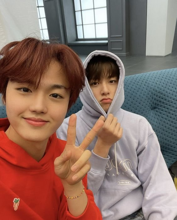 Junghwan and Doyoung