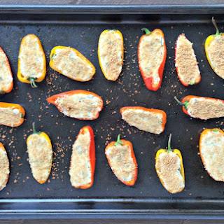 Herb & Cheese Stuffed Mini Peppers.