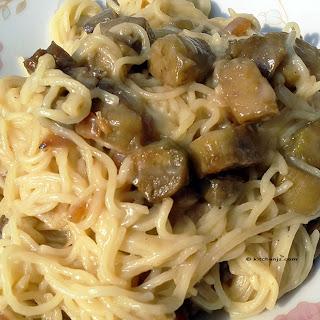 Eggplant Chow Mein
