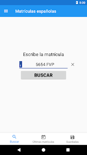 Spanish license plates - date- screenshot thumbnail
