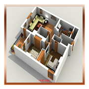 3d house plan rendering