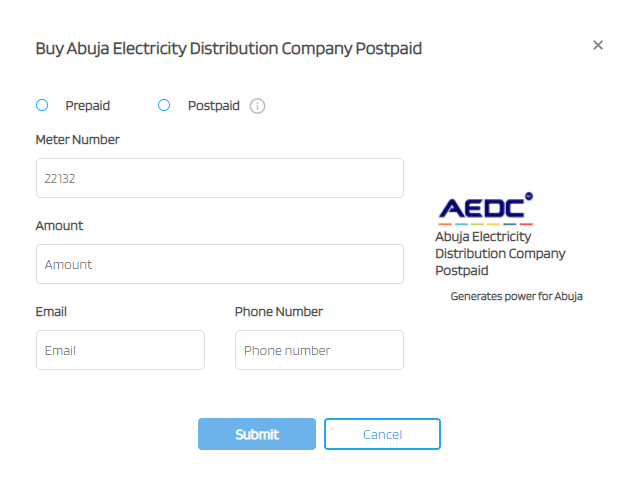 Steps to recharge prepaid electricity meter using nepa.ng