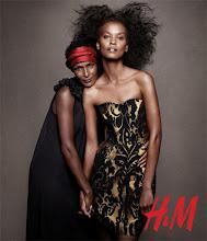 Photo: Waris Dire y Liya Kebede para H&M