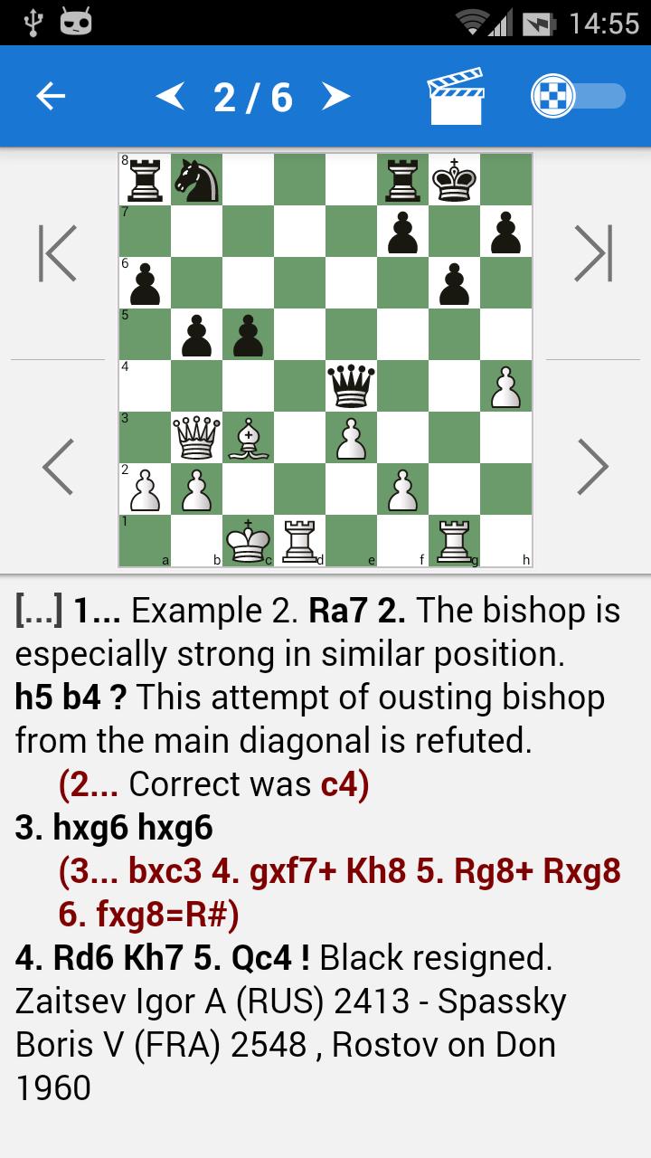 Chess Strategy & Tactics Vol 1 (1600-2000 ELO) Screenshot 1