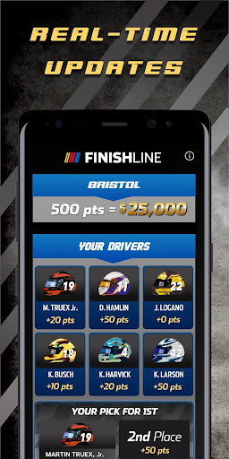 NASCAR Finish Line screenshot 4