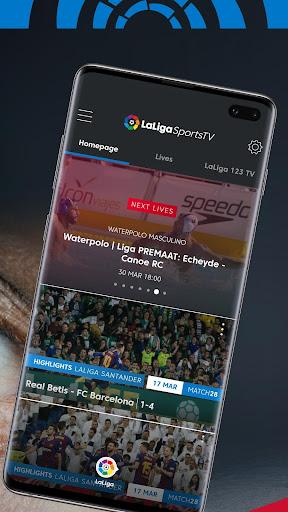 LaLigaSportstv: La Liga Sports TV & Live Streaming 5.2.1 screenshots 2