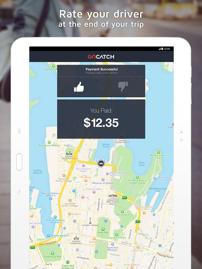 GoCatch: Taxi & Rideshare- screenshot