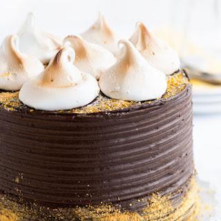 Banana-Graham S'mores Cake Supreme