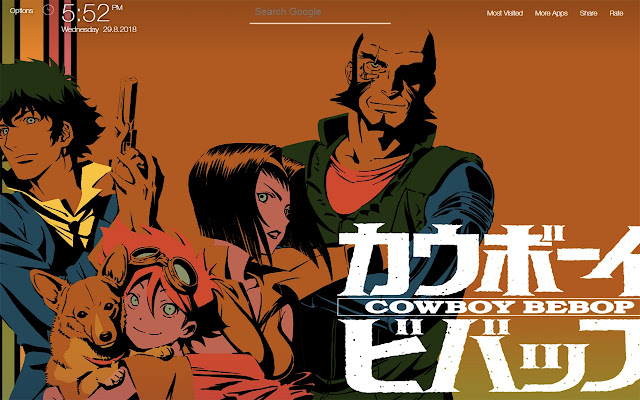 Cowboy Bebop Wallpapers Fullhd New Tab