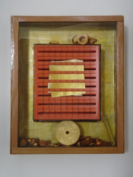 Photo: GOLD BOX assemblage mixed mediums information> cart2gonow@nyc.rr.com http://www.saatchionline.com/carlograssini