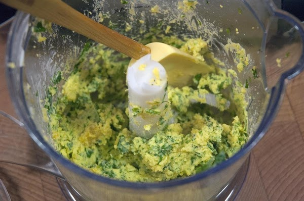 Finally, add a bit of cream, a little at a time until the mixture...