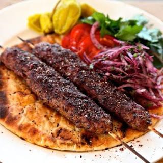 Adana Kebabs (Ground Lamb Kebabs).