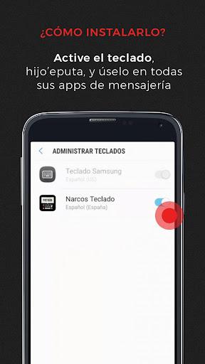 Autocorrector Narcos 1.0 screenshots 3